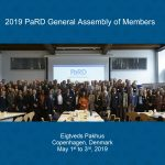 Group photo from the 2019 PaRD General Assembly
